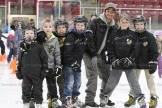 About 175 people enjoyed Family Day afternoon at the Tavistock Arena by Skating with Sparky the Fire Dog, sponsored by the Tavistock Fire Department. Hot dogs, cheese strings, chocolate milk, hats, crayons and colouring books were given away. Above, from the left are: Becham Skillings, Carter Skillings, Tucker Otto, Hayden McCann, Christian Musselman, Brady Raymer, Jake Hauss.